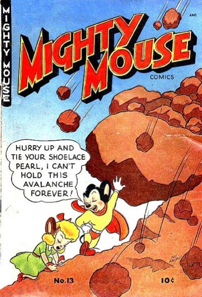 Cover for Mighty Mouse (St. John, 1947 series) #13