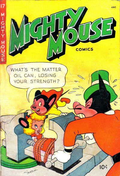 Cover for Mighty Mouse (St. John, 1947 series) #17