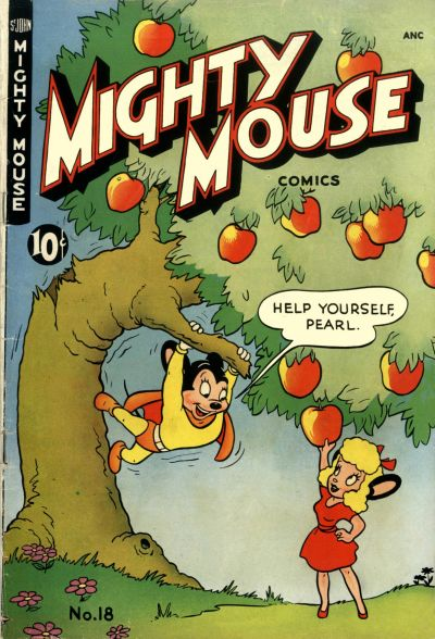 Cover for Mighty Mouse (St. John, 1947 series) #18