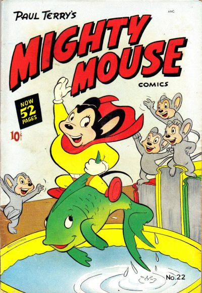 Cover for Paul Terry's Mighty Mouse Comics (St. John, 1951 series) #22 [52-pages]
