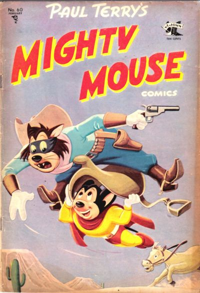 Cover for Paul Terry's Mighty Mouse Comics (St. John, 1951 series) #60