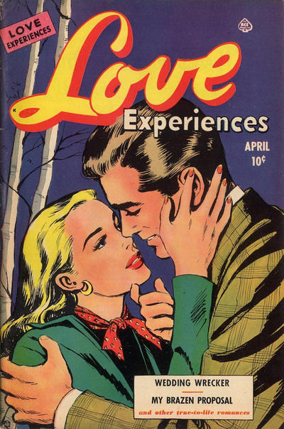 Cover for Love Experiences (Ace Magazines, 1951 series) #6
