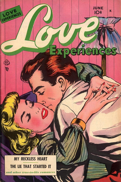Cover for Love Experiences (Ace Magazines, 1951 series) #7
