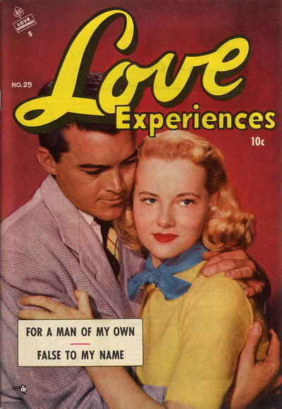 Cover for Love Experiences (Ace Magazines, 1951 series) #25