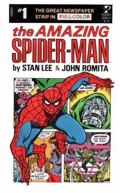 Cover for The Amazing Spider-Man (Pocket Books, 1980 series) #83489-4 [1]