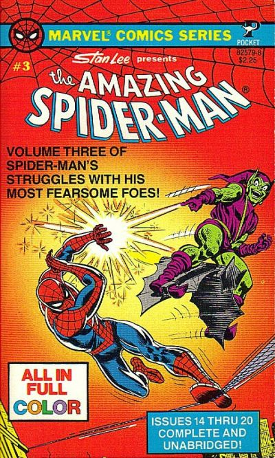 Cover for The Amazing Spider-Man (Pocket Books, 1977 series) #3 (82579-8)