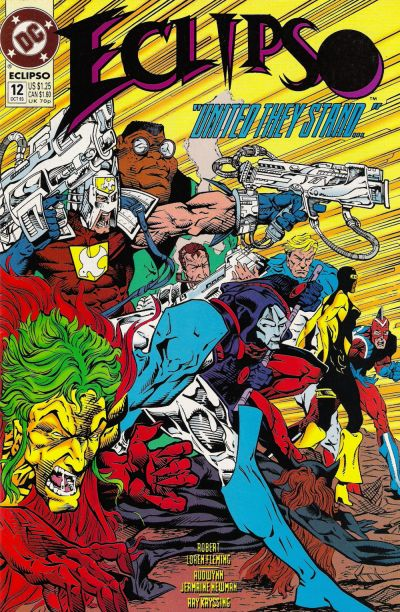Cover for Eclipso (DC, 1992 series) #12