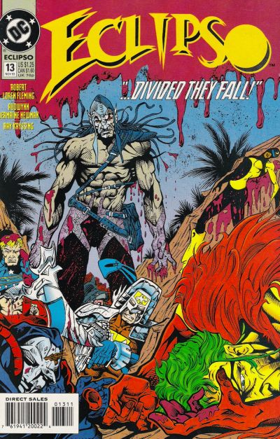 Cover for Eclipso (DC, 1992 series) #13