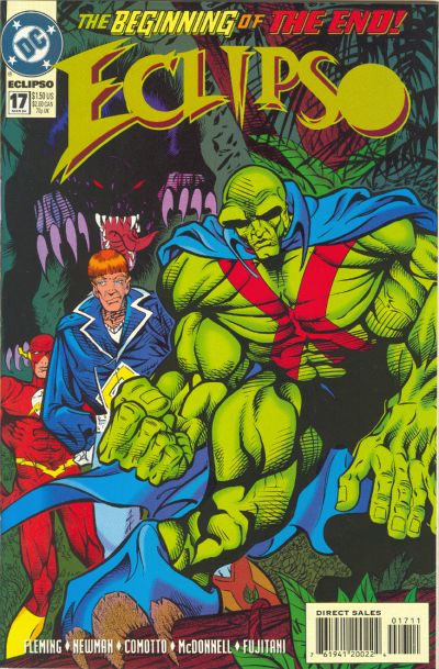 Cover for Eclipso (DC, 1992 series) #17