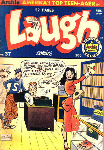 Cover for Laugh Comics (Archie, 1946 series) #37
