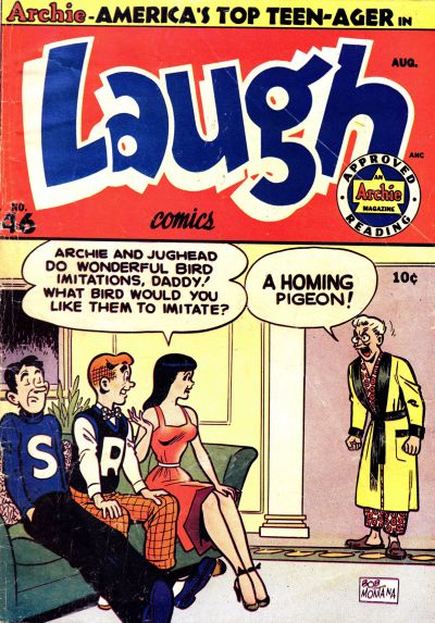 Cover for Laugh Comics (Archie, 1946 series) #46