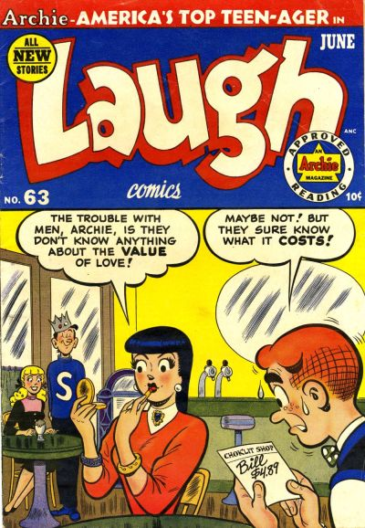Cover for Laugh Comics (Archie, 1946 series) #63