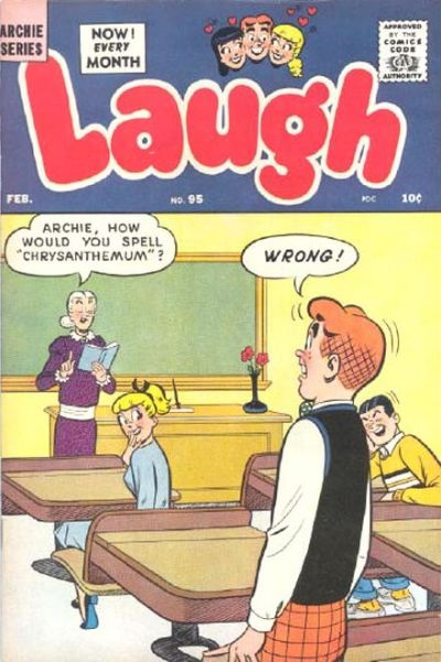 Cover for Laugh Comics (Archie, 1946 series) #95