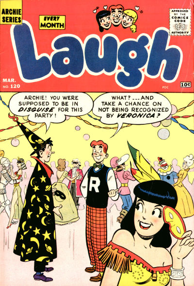Cover for Laugh Comics (Archie, 1946 series) #120
