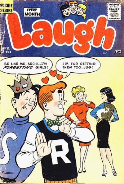 Cover for Laugh Comics (Archie, 1946 series) #121