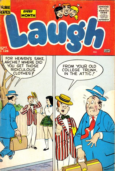 Cover for Laugh Comics (Archie, 1946 series) #126
