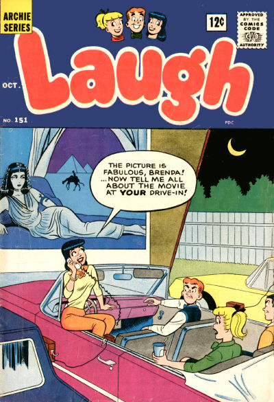 Cover for Laugh Comics (Archie, 1946 series) #151