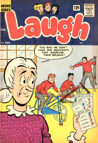 Cover for Laugh Comics (Archie, 1946 series) #155