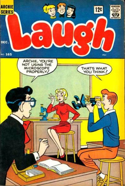 Cover for Laugh Comics (Archie, 1946 series) #165