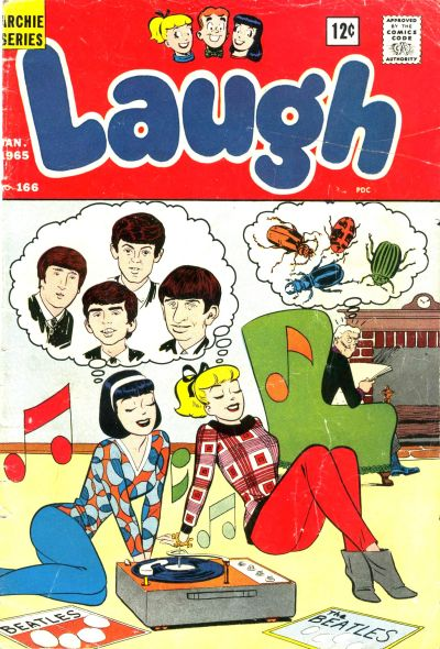 Cover for Laugh Comics (Archie, 1946 series) #166