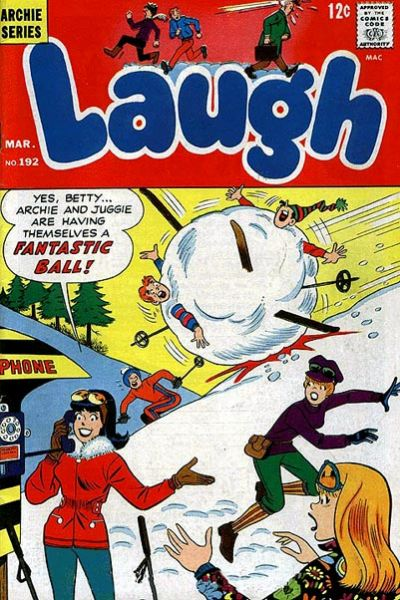 Cover for Laugh Comics (Archie, 1946 series) #192