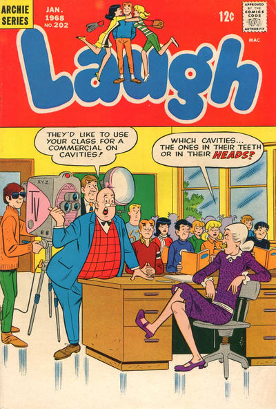 Cover for Laugh Comics (Archie, 1946 series) #202