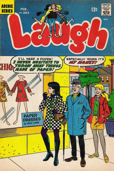 Cover for Laugh Comics (Archie, 1946 series) #203