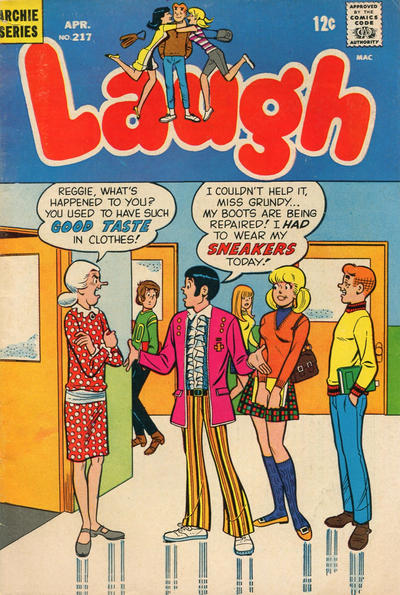 Cover for Laugh Comics (Archie, 1946 series) #217