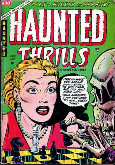 Cover for Haunted Thrills (Farrell, 1952 series) #16