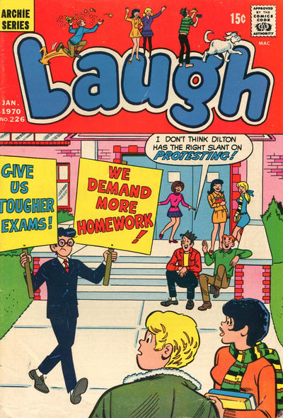Cover for Laugh Comics (Archie, 1946 series) #226