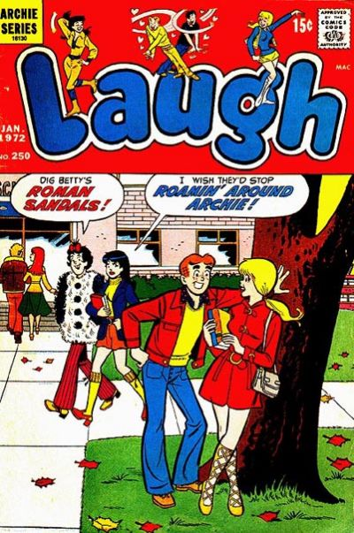 Cover for Laugh Comics (Archie, 1946 series) #250
