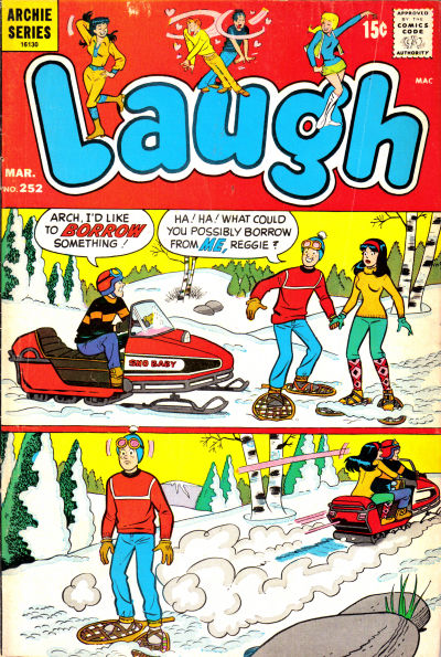 Cover for Laugh Comics (Archie, 1946 series) #252