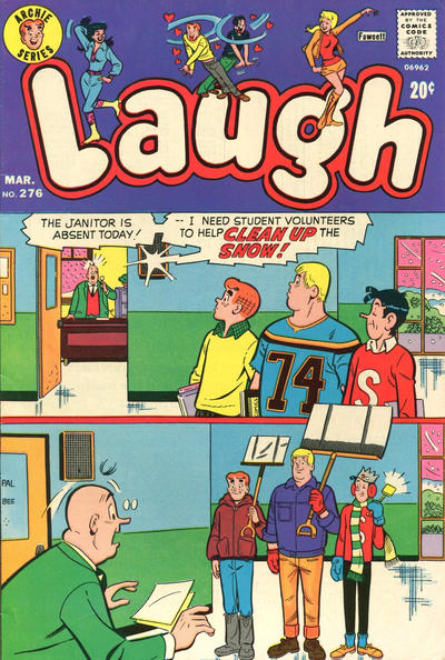 Cover for Laugh Comics (Archie, 1946 series) #276