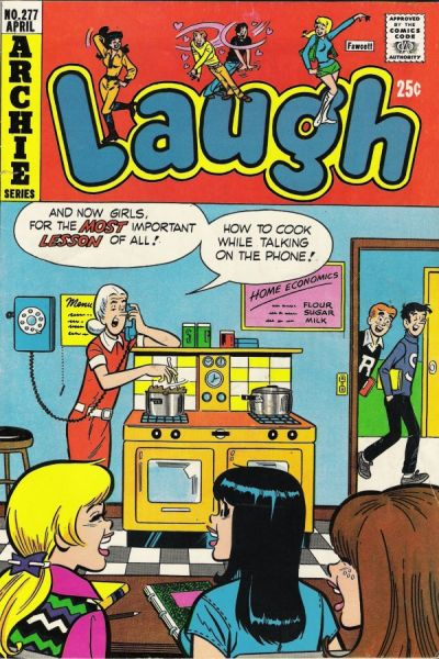 Cover for Laugh Comics (Archie, 1946 series) #277