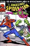 Cover for The Official Marvel Index to the Amazing Spider-Man (Marvel, 1985 series) #7