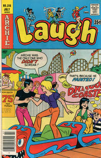 Cover Thumbnail for Laugh Comics (Archie, 1946 series) #316
