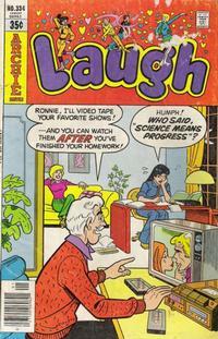 Cover Thumbnail for Laugh Comics (Archie, 1946 series) #334
