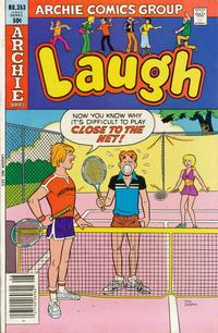 Cover Thumbnail for Laugh Comics (Archie, 1946 series) #353