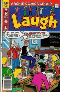 Cover Thumbnail for Laugh Comics (Archie, 1946 series) #363