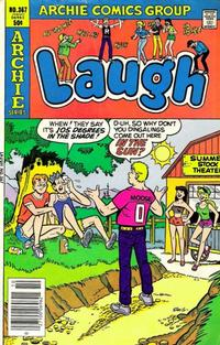 Cover Thumbnail for Laugh Comics (Archie, 1946 series) #367
