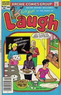 Cover Thumbnail for Laugh Comics (Archie, 1946 series) #381