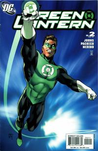 Cover Thumbnail for Green Lantern (DC, 2005 series) #2 [Direct Sales]