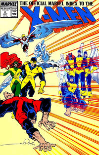 Cover Thumbnail for The Official Marvel Index to the X-Men (Marvel, 1987 series) #2