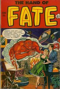 Cover for The Hand of Fate (Ace Magazines, 1951 series) #11