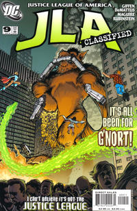Cover Thumbnail for JLA: Classified (DC, 2005 series) #9 [Direct Sales]