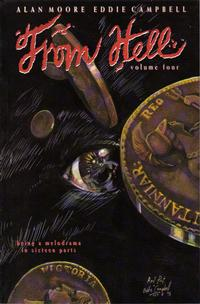Cover Thumbnail for From Hell (Mad Love Publishing, 1991 series) #4 [First Printing]