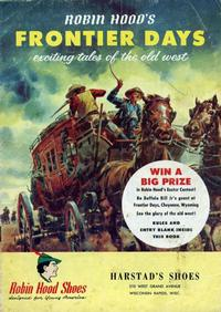 Cover Thumbnail for Robin Hood's Frontier Days (Brown Shoe Co., 1956 series)