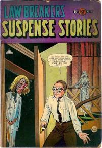 Cover Thumbnail for Lawbreakers Suspense Stories (Charlton, 1953 series) #12