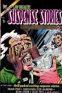 Cover Thumbnail for Lawbreakers Suspense Stories (Charlton, 1953 series) #15