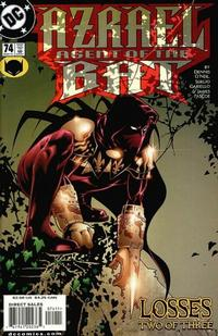 Cover Thumbnail for Azrael: Agent of the Bat (DC, 1998 series) #74